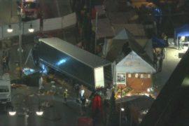 Полиция назвала инцидент на ярмарке в Берлине терактом