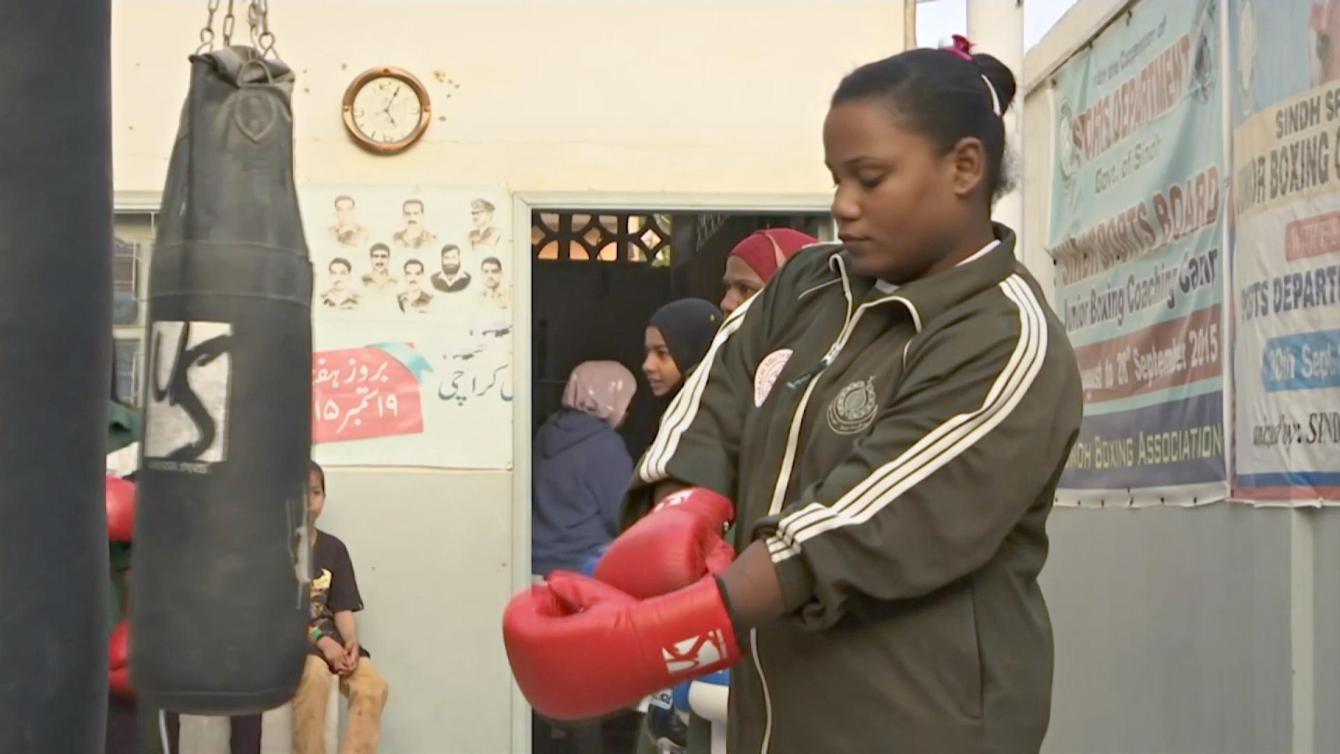 16-летняя пакистанка мечтает об Олимпиаде