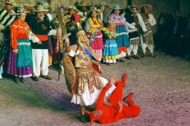 Мексиканцы наслаждаются рождественскими пасторалями