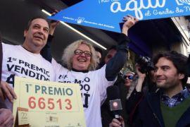 Десять жителей Мадрида выиграли по 400 000 евро в лотерею