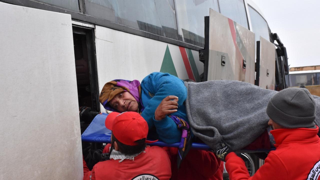 Из Алеппо эвакуировали последнюю группу повстанцев