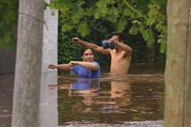 Сотни человек эвакуированы в Аргентине из-за наводнения