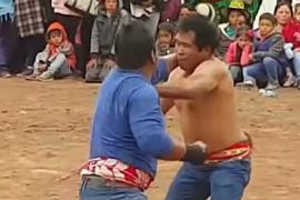 Перуанцы поколотили друг друга, чтобы очиститься