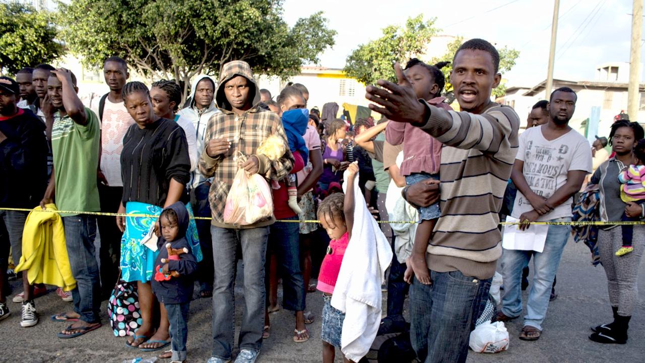 Мигранты пытаются попасть в США до инаугурации Дональда Трампа