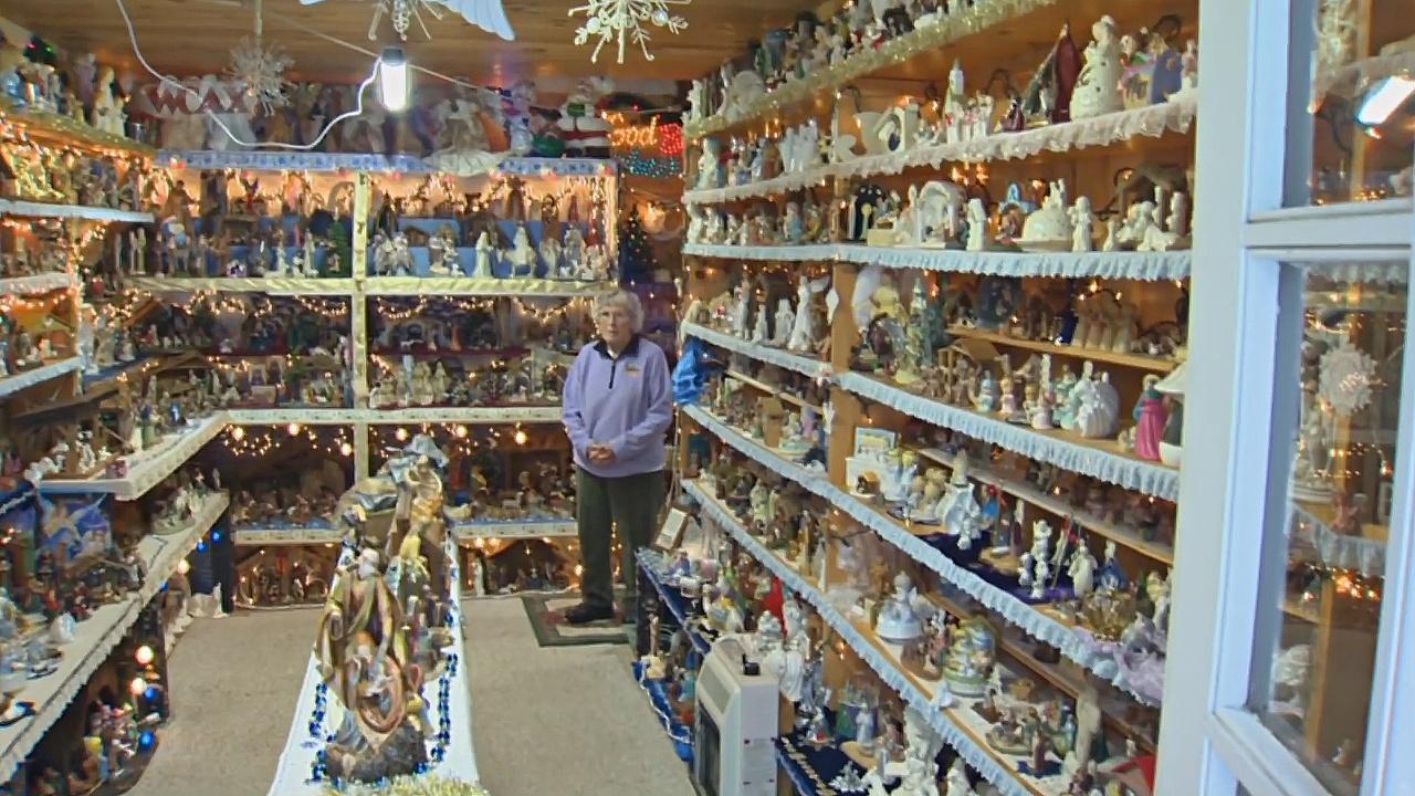 Американка собрала коллекцию из 1400 вертепов