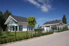 Компания Osko-House предлагает элитные коттеджи в пригороде Питера