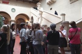 Дети побывали в роли экскурсоводов в Музее им. Пушкина