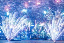 От Токио до Нью-Йорка: зрелищные фейерверки в новогоднюю ночь