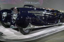 Выставка «Искусство Бугатти» открылась в Лос-Анджелесе