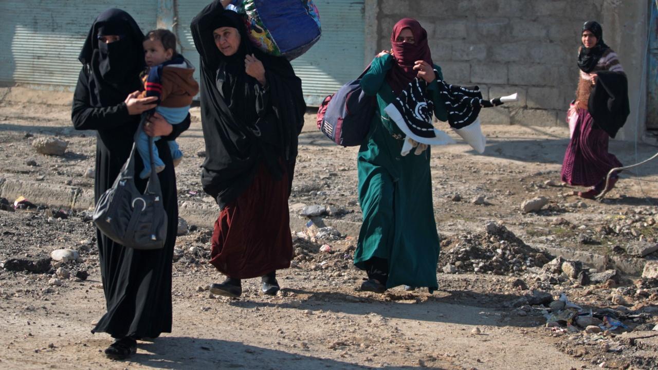 В Мосуле открыли коридор для мирных жителей