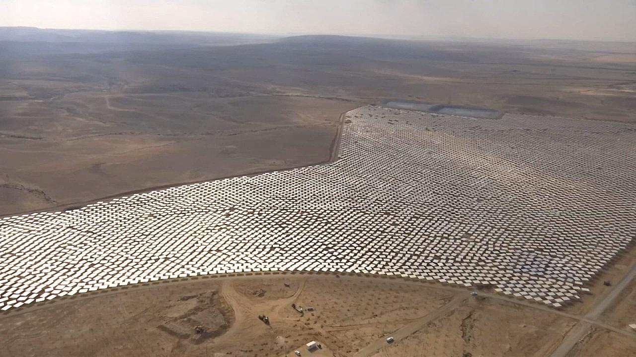 В Израиле развивают солнечную энергетику