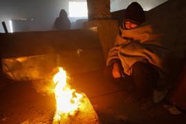 Мигранты страдают от сильных холодов в Сербии