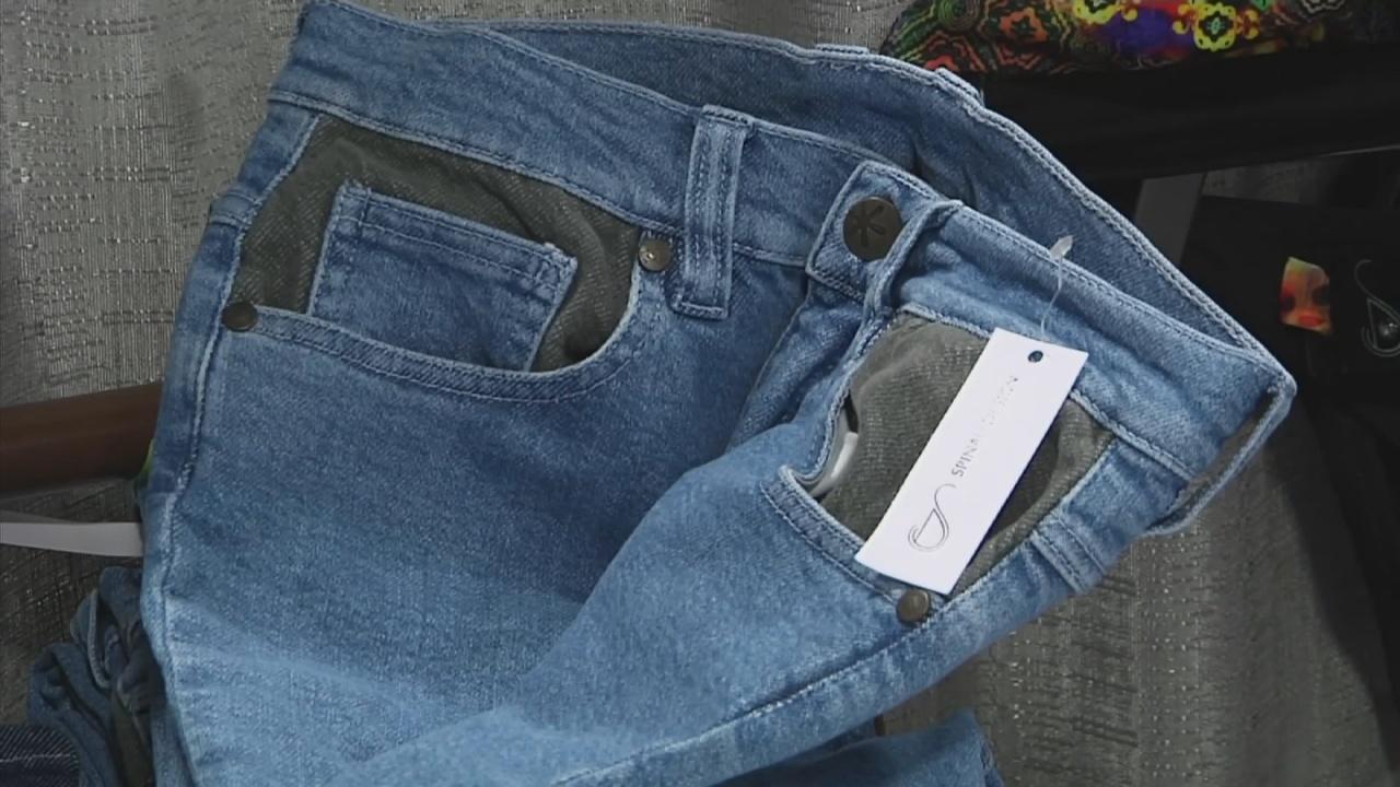 «Умные» джинсы подскажут дорогу