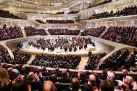 В Гамбурге с семилетним опозданием открылась филармония