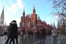 Где отдыхали россияне в новогодние каникулы?