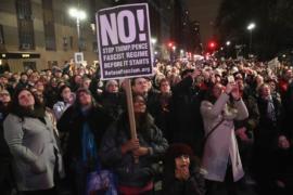 В преддверии инаугурации Трампа в США идут протесты