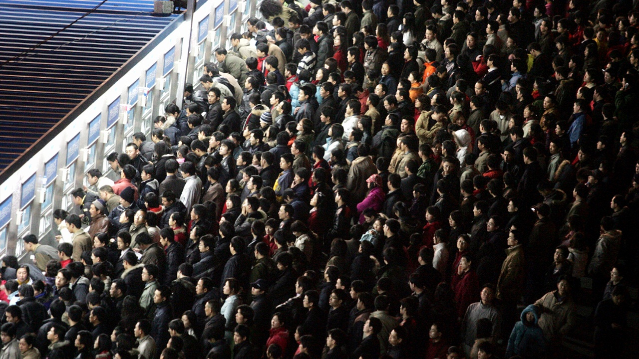 В Китае началась массовая предновогодняя миграция