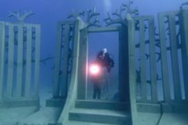 Первый в Европе подводный музей открылся в Испании