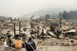В Чили из-за лесных пожаров арестованы десятки человек