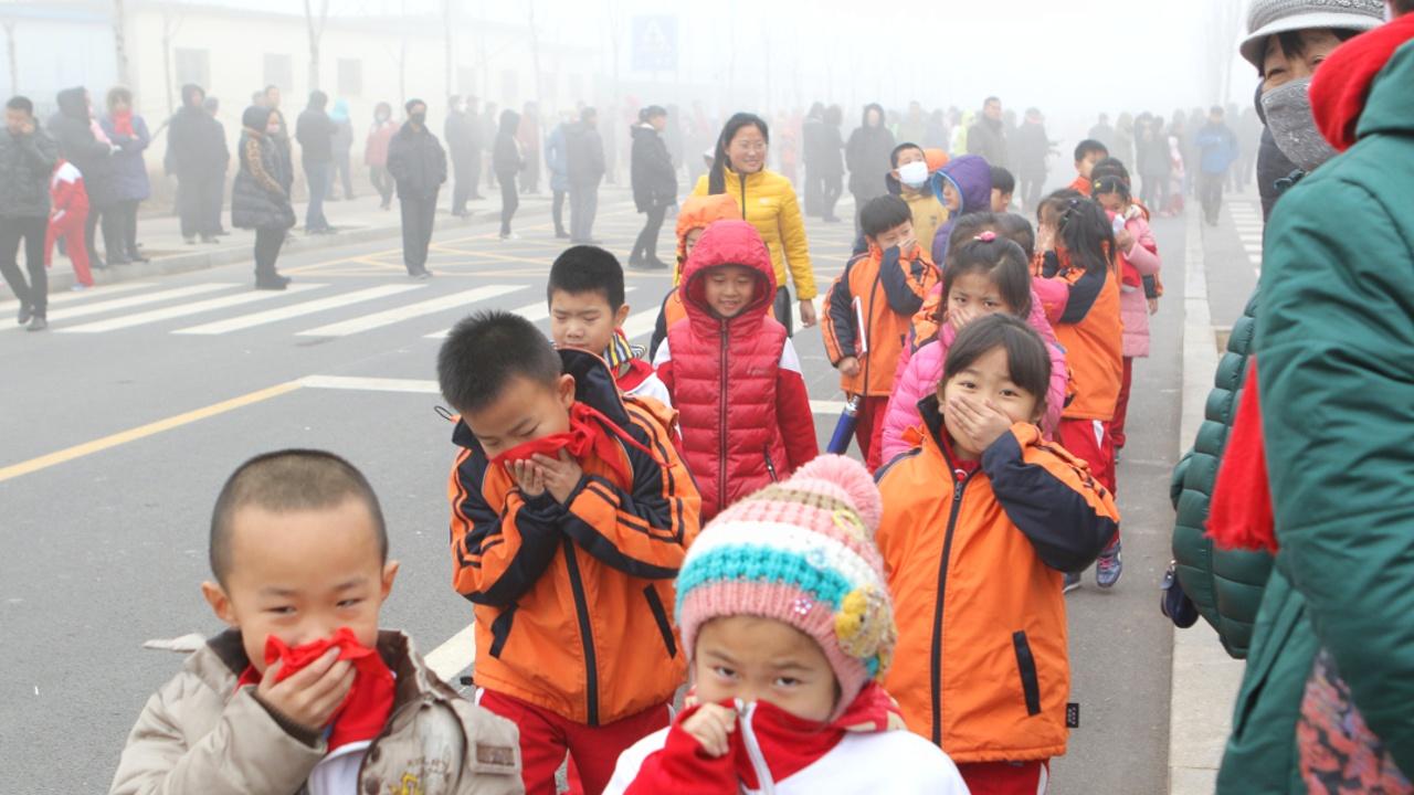 Год Петуха в Пекине начался с ядовитого смога