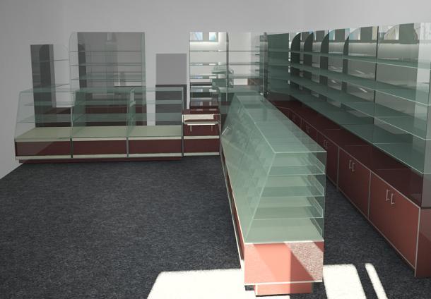 Торговые витрины для конфет и пряников