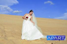 Свежая палитра свадебных платьев