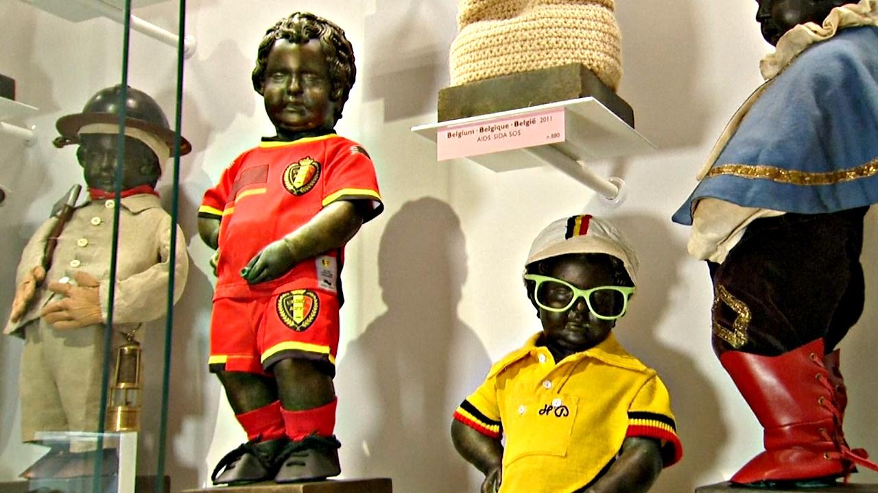 Гардеробу Писающего мальчика в Брюсселе посвятили отдельный музей