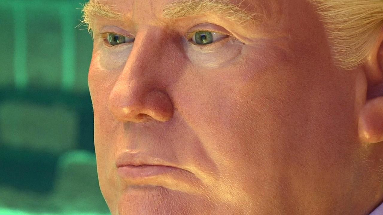 Восковой Дональд Трамп появился в музее Мехико