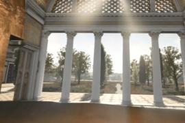 Виртуальная экскурсия переносит в древнеримский дворец
