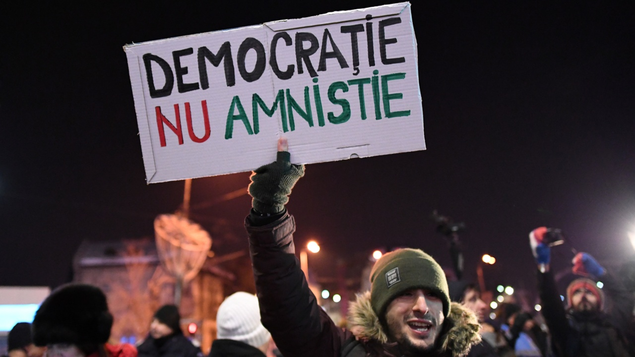 Правительство Румынии не уступит протестующим