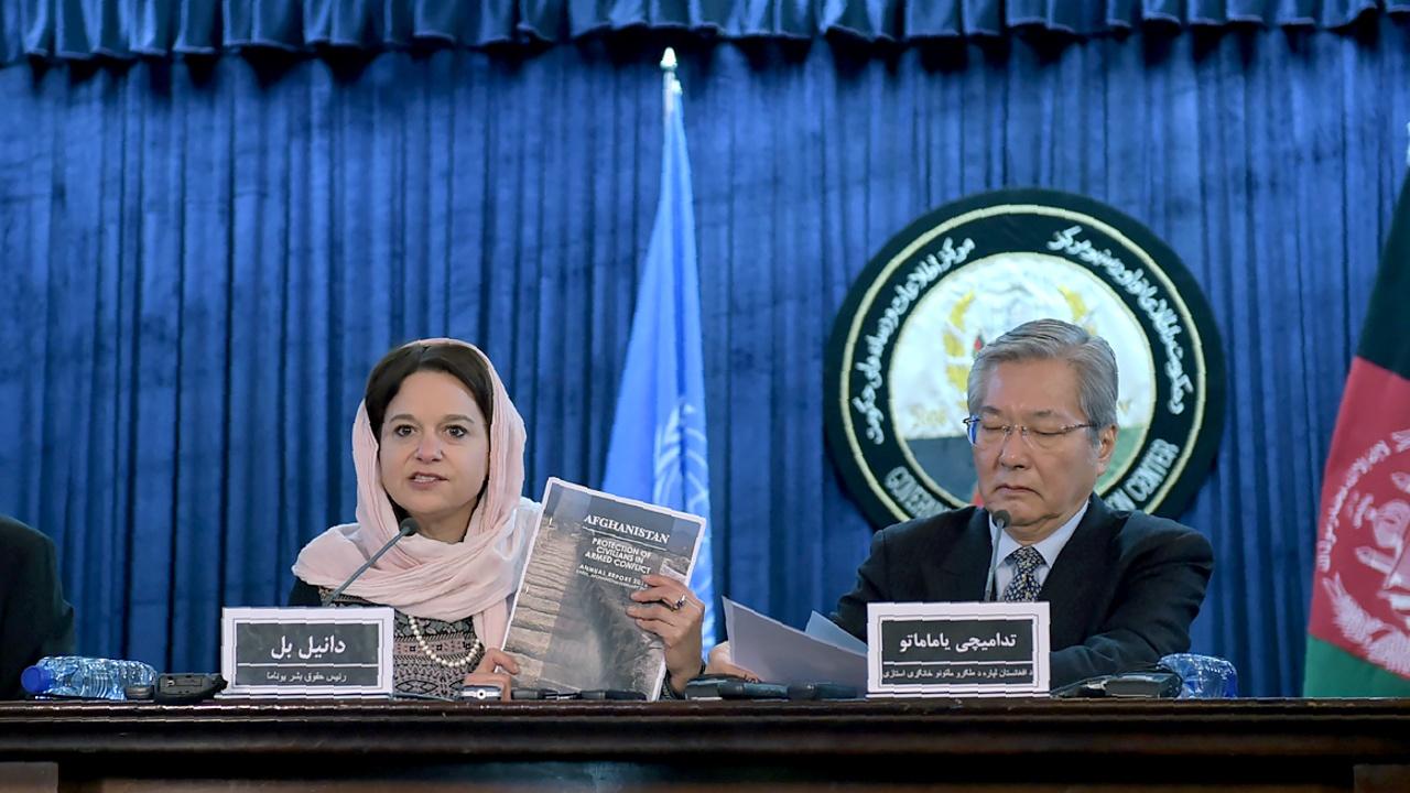 Доклад ООН: в Афганистане пострадало рекордное число мирных граждан