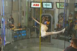 Соревнования в аэротрубе прошли в Испании