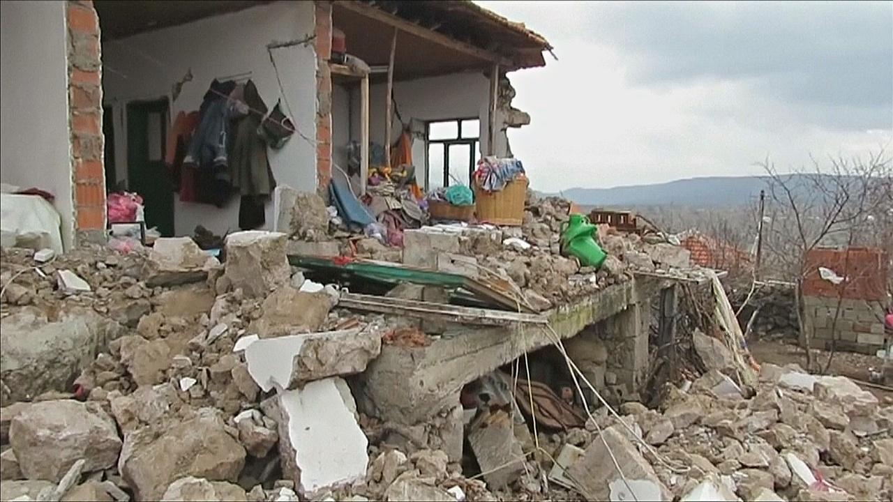 В результате землетрясения в Турции пострадало 11 сёл