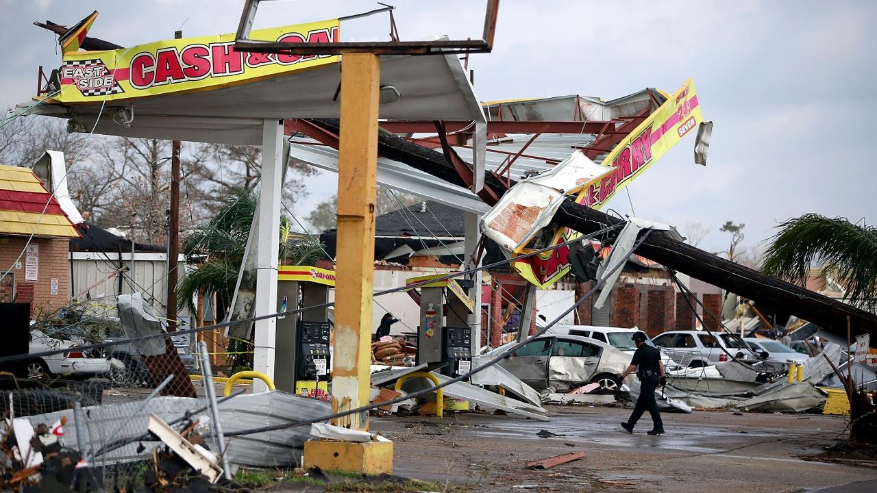 На Луизиану обрушились торнадо, есть пострадавшие