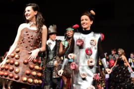 «Шоколадную моду» продемонстрировали в Брюсселе