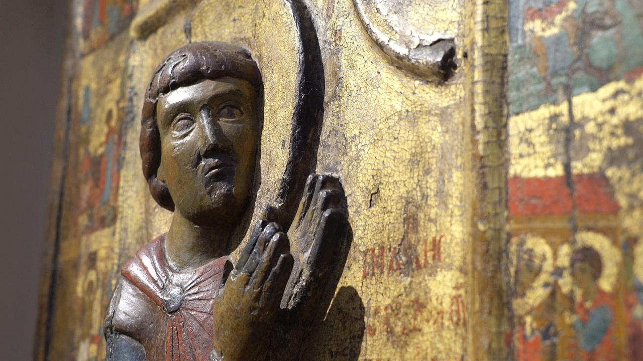 Шедевры Византии выставляет Третьяковская галерея