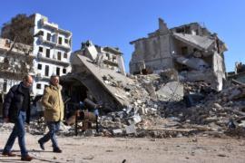 Жители Алеппо восстанавливают разрушенную историю