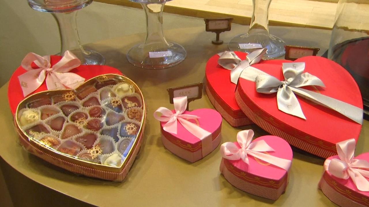 Шоколатье «подсластили» День всех влюблённых