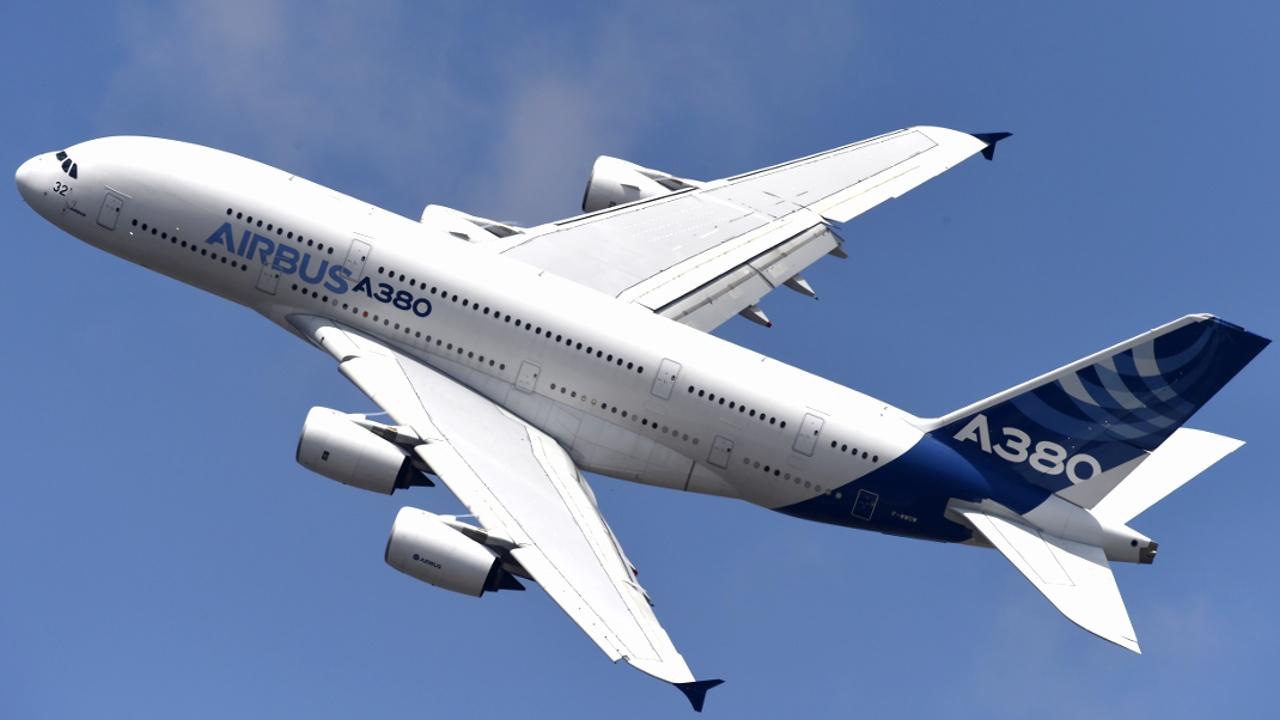 Двухпалубный Airbus A380 пополнил музейную коллекцию