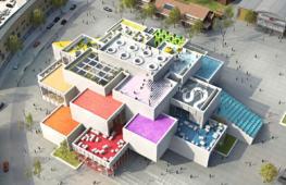 Огромный дом Lego откроется в Дании
