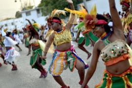 Остров Гаити погрузился в карнавальные празднества