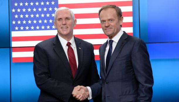 Пенс: США преданы сотрудничеству сЕС