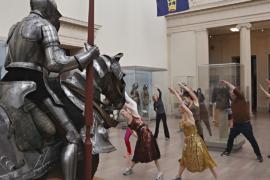 Любители искусства и спорта проводят тренировки в музее