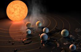Учёные обнаружили семь экзопланет размером с Землю