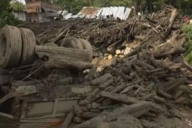 Аномальные оползни в Колумбии привели к эвакуации 2000 человек