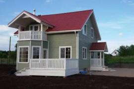 Каркасные дома: преимущества готовых проектов