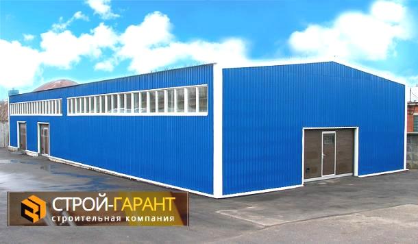 Строительство складов и ангаров в Московской области