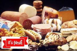 Свежие продукты у вас дома