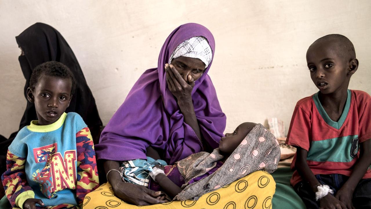 В Сомали за два дня 110 человек умерли из-за засухи