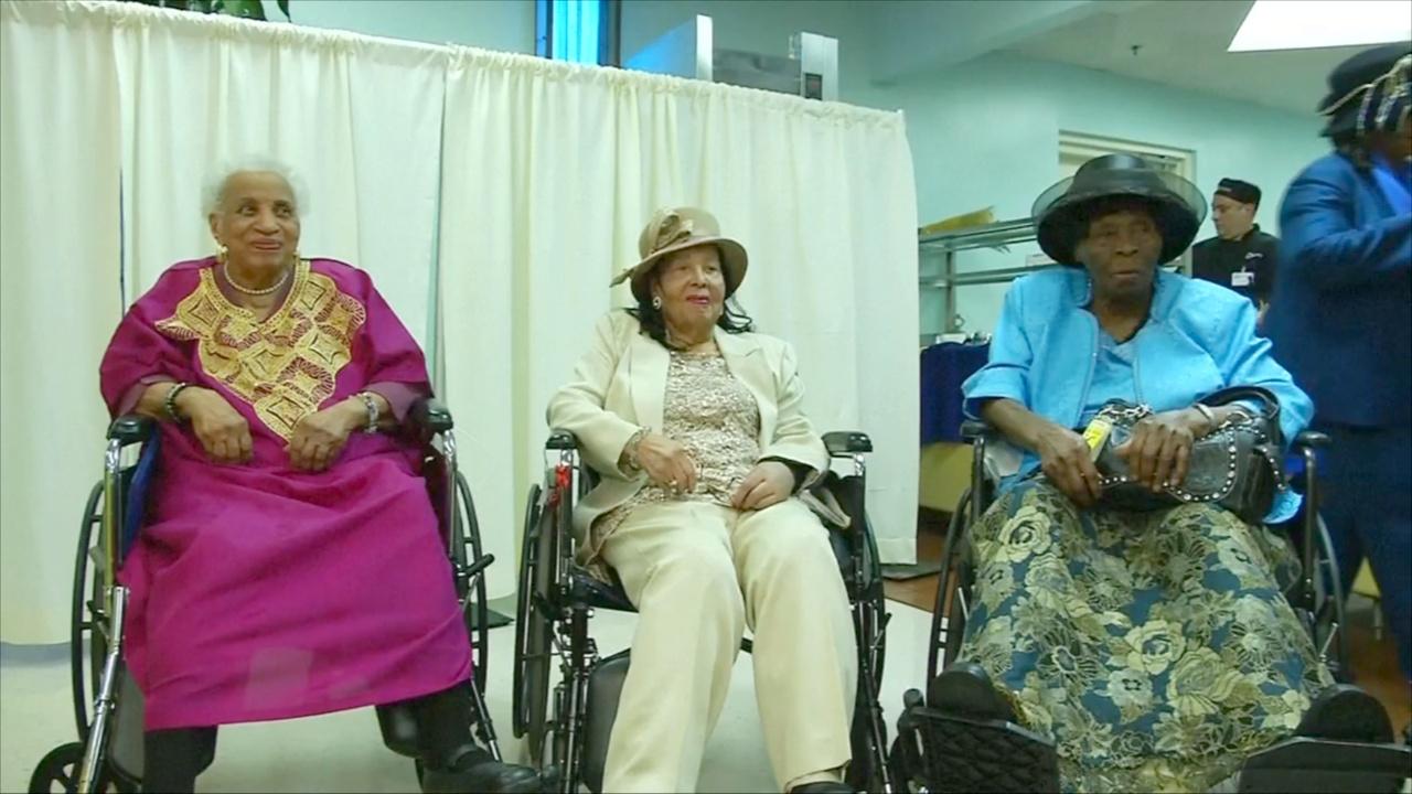 Сразу три обитательницы дома престарелых отпраздновали 100 лет